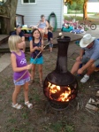 Roasting Marshmallows Copyright by Holly Hedman