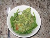 Avocado Spinach Salad