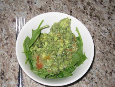 Avocado Spinach Salad