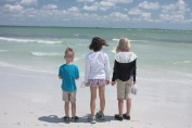 Kids by the Gulf  Copyright by Holly Hedman