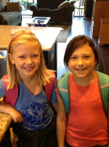 Official First Day of School by Holly Hedman