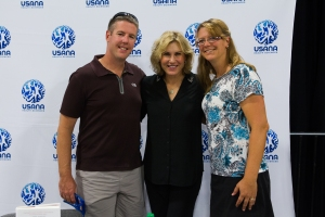 Dan, Me and Kathy Kaehler