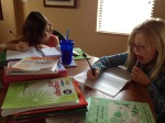 Girls Hard At Work Copyright by Holly Hedman
