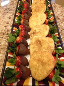 Chocolate Strawberries Copyright by Holly Hedman