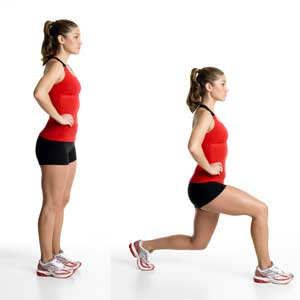 Lunges-Forward