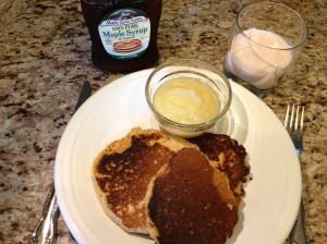 Healthier Pancakes Copyright by Holly Hedman
