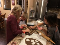 Making cookies (copyright by Holly Hedman)